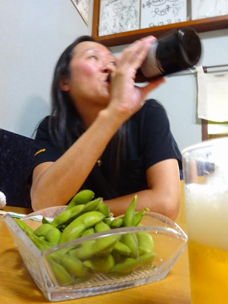 新潟 3 【9/11 古町で飲む! 2軒目 『喜ぐち』】_d0061678_17042316.jpg