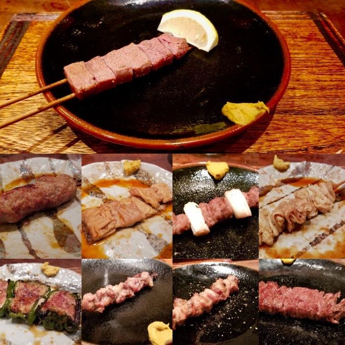焼きとんの老舗「鳥茂」@新宿で、本日のおすすめコース_a0223786_17150406.jpg