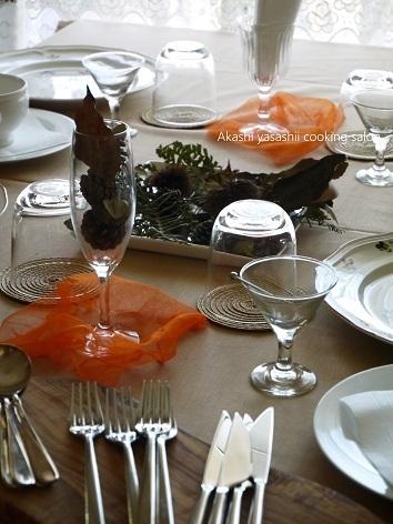 9・10月レギュラーレッスン*テーブルコーディネートとメインの料理_f0361692_12083385.jpg