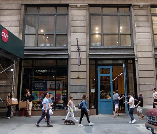 NYのSOHOにあるアマゾン4スター(Amazon 4-Star)世界1号店_b0007805_01180687.jpg