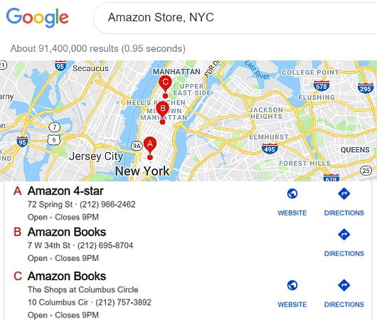 NYのSOHOにあるアマゾン4スター(Amazon 4-Star)世界1号店_b0007805_04004588.jpg