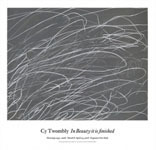 Cy Twombly: Untitled, 1969 ポスター_c0214605_15400929.jpg