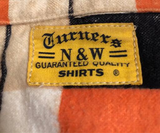 アメリカ仕入れ情報#21 N&W 50s プリントネルシャツ!_c0144020_11271658.jpg