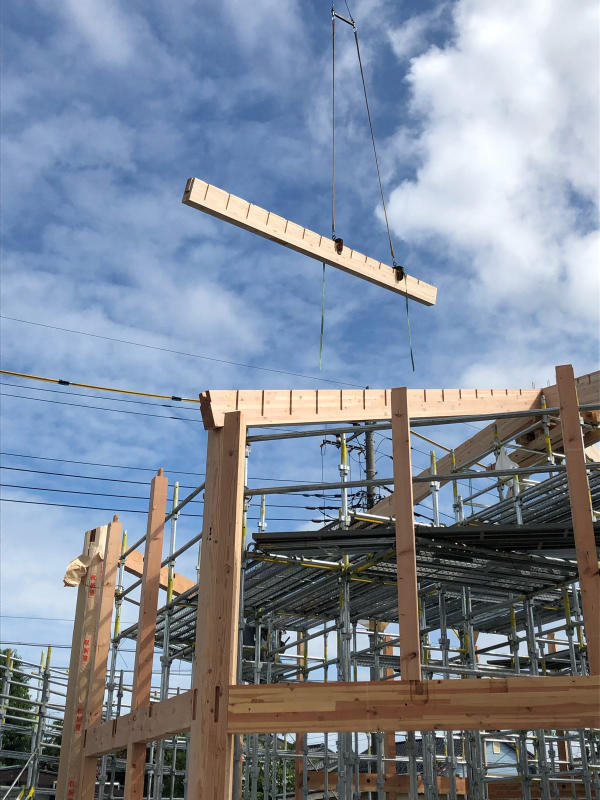 建て方開始(N教会)_d0086022_16563699.jpg
