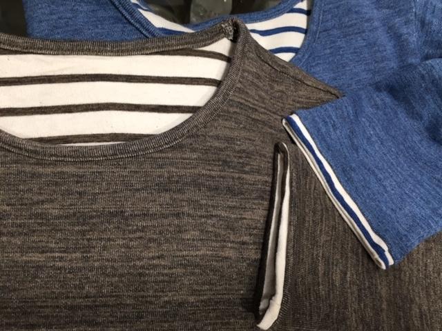 新作ボーダーTシャツはリバーシブルで楽しめます♪ _d0108933_15250902.jpg