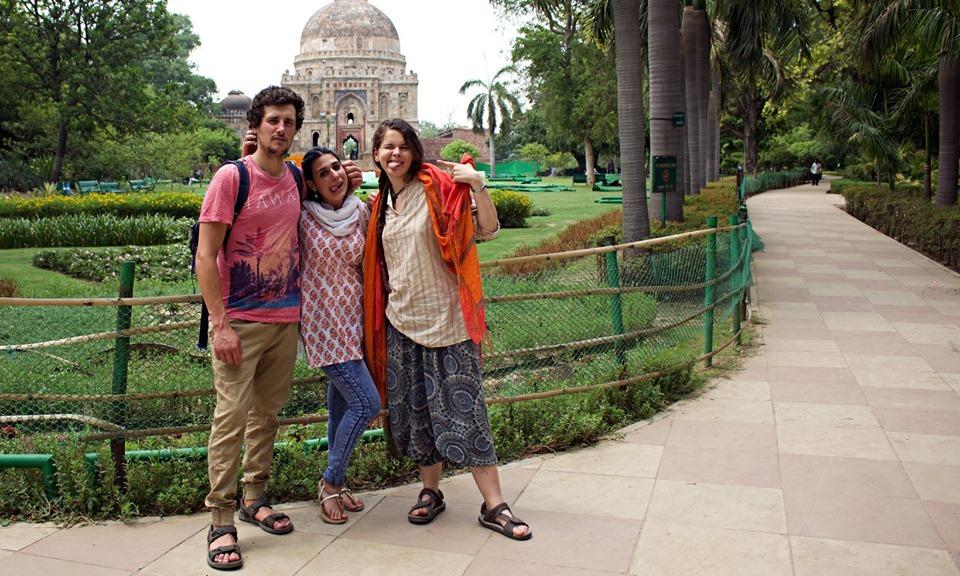 インド環境支援チーム:自由時間の様子_a0383739_17394948.jpg