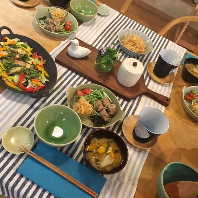 cooking  お嫁さんと仲良く♪_a0165160_16270532.jpg