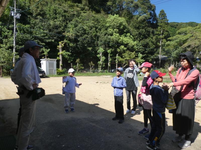 和歌山市から岬社協企画「里山体験」に来訪・・・孝子の森_c0108460_17182301.jpg