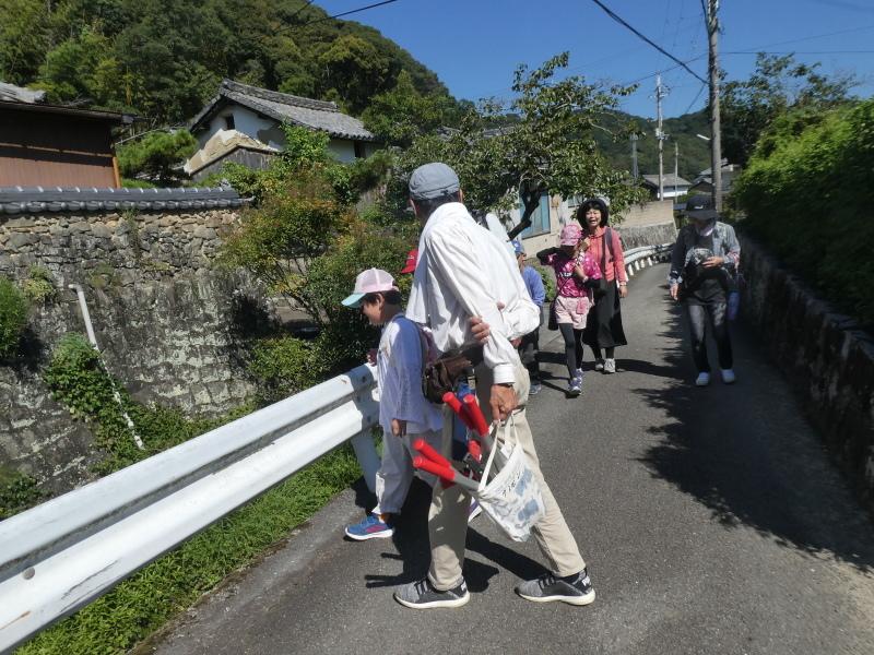 和歌山市から岬社協企画「里山体験」に来訪・・・孝子の森_c0108460_17191863.jpg