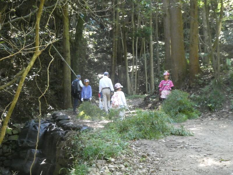 和歌山市から岬社協企画「里山体験」に来訪・・・孝子の森_c0108460_17221206.jpg