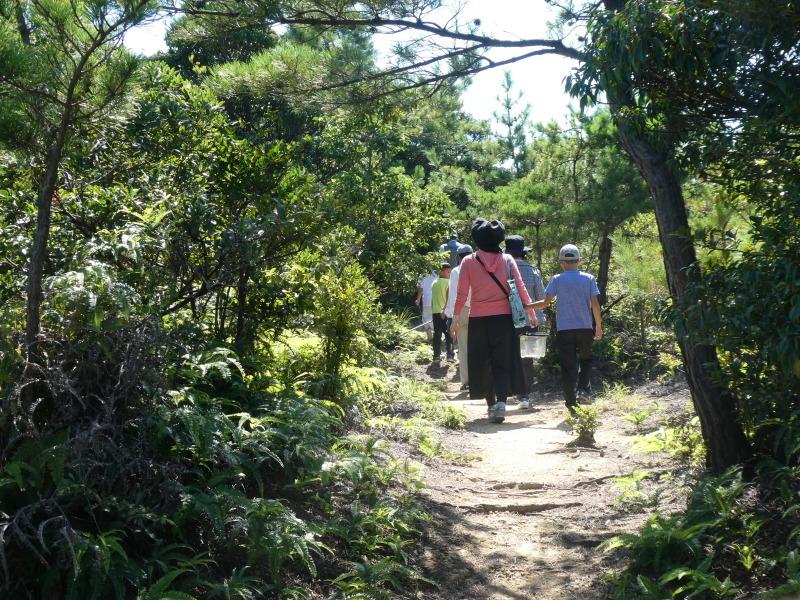 和歌山市から岬社協企画「里山体験」に来訪・・・孝子の森_c0108460_17302810.jpg