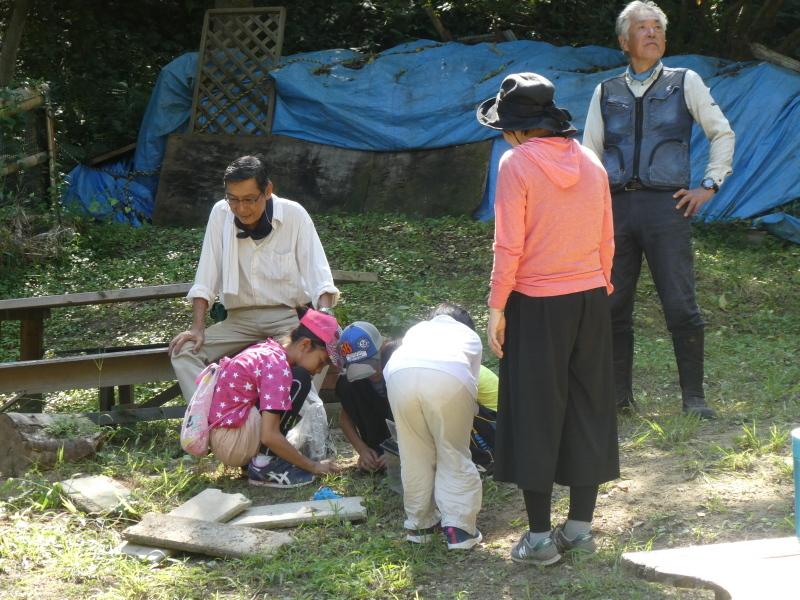 和歌山市から岬社協企画「里山体験」に来訪・・・孝子の森_c0108460_17332536.jpg