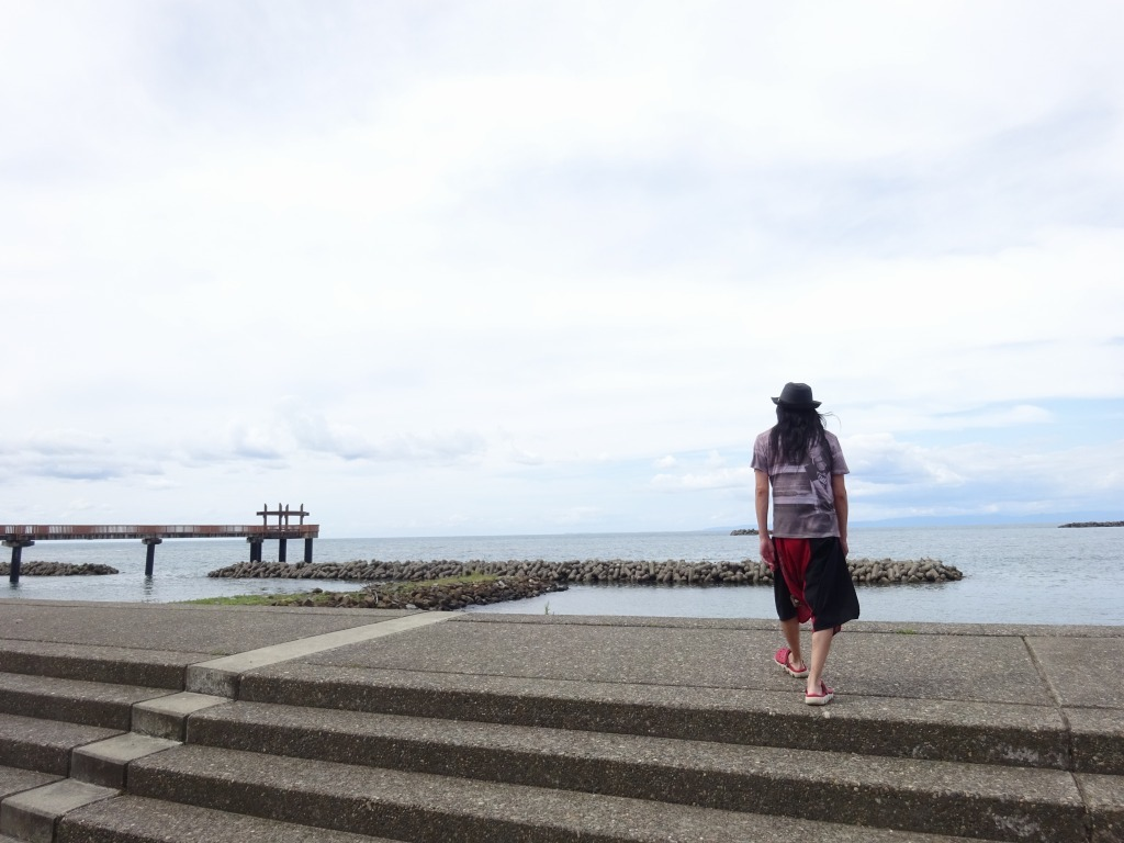 新潟 4 【9/12 厚い雲、田園、寺泊~日本海~帰路】_d0061678_11175843.jpg