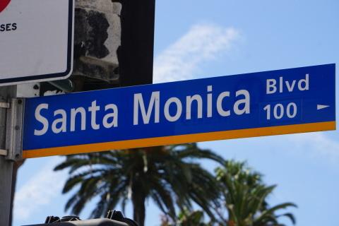 LAの旅④-サンタモニカであの人に出会った?_c0019088_11571180.jpg