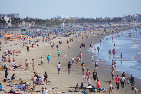 LAの旅④-サンタモニカであの人に出会った?_c0019088_12022632.jpg