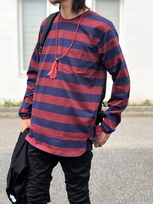 Graphpaper  - Herringbone Long Pullover._c0079892_20455898.jpg