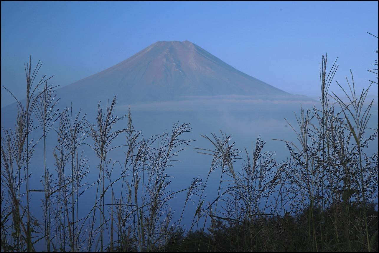 高座山の夜明け_a0188405_19440671.jpg