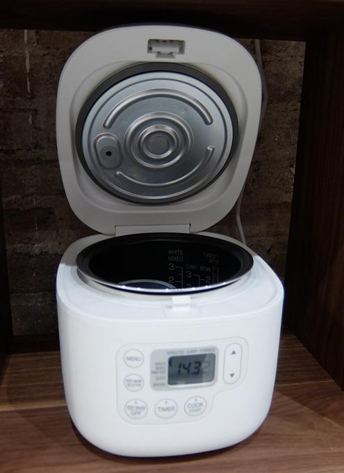 炊飯器はこういうのでいいんだよ by MUJI(無印良品)_b0007805_23335913.jpg