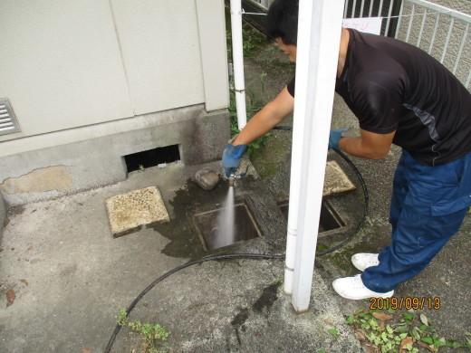 排水管高圧洗浄_d0358411_19095020.jpg