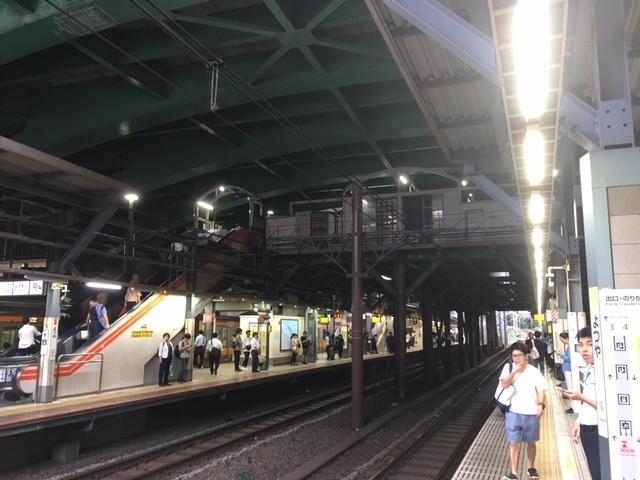 四谷駅 吹き抜け空間とアールズコート駅_b0074416_01150621.jpg
