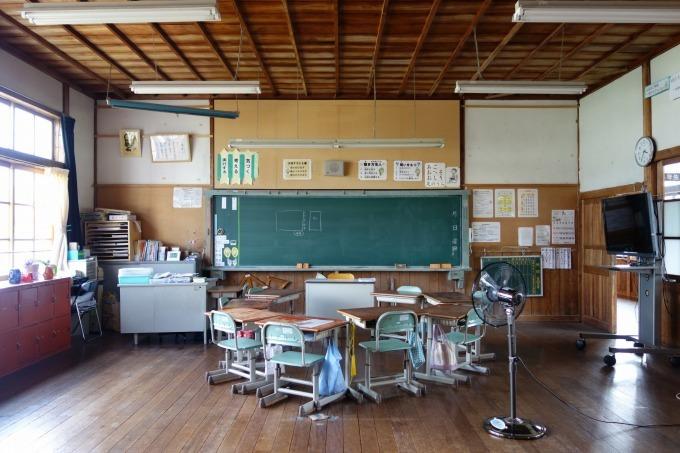 かつての教室の様子です。_b0177130_21553740.jpg
