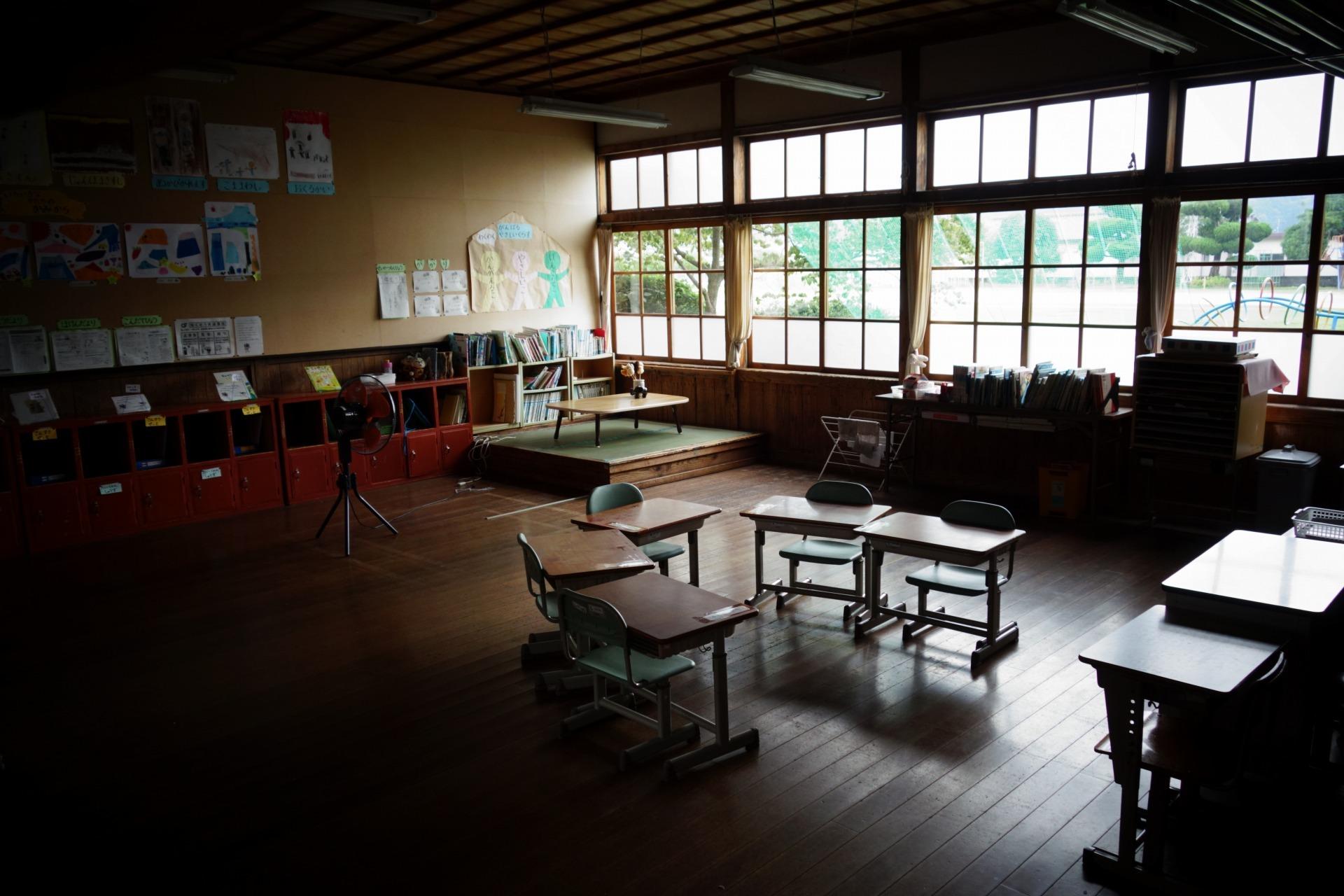 かつての教室の様子です。_b0177130_21563008.jpg