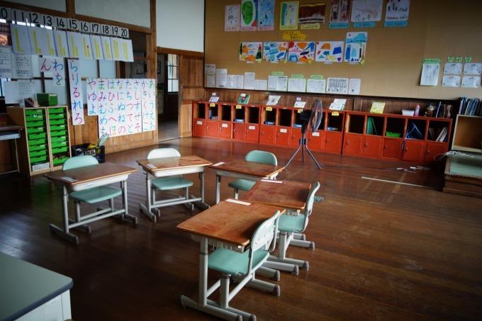 かつての教室の様子です。_b0177130_21565057.jpg