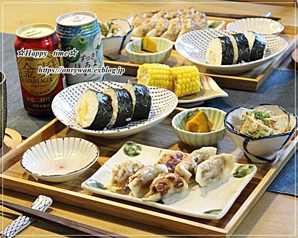 作りおき弁当と今夜のおうち呑みおかず♪_f0348032_18265382.jpg