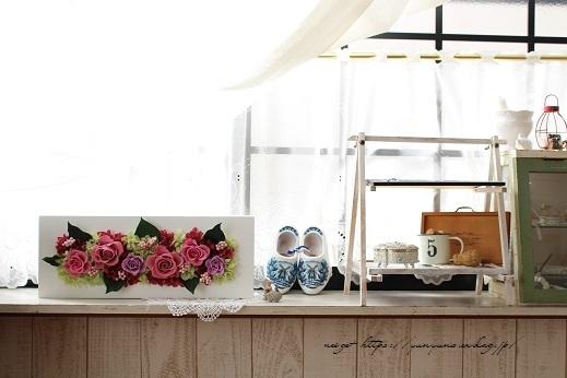 『日比谷花壇』素敵なプリザーブドフラワーのサプライズギフト♪_f0023333_22565800.jpg