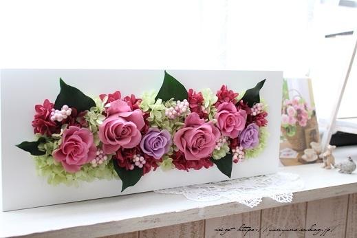 『日比谷花壇』素敵なプリザーブドフラワーのサプライズギフト♪_f0023333_22565841.jpg