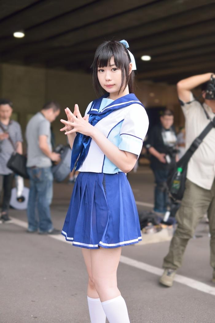 南ななみさん 9月14日 東京ゲームショウ_f0215145_11142624.jpg