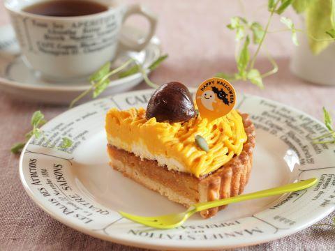 日々のお菓子作り~かぼちゃのモンブランタルト_c0213947_16343449.jpg