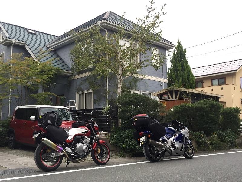 2019 北海道ツーリング #1  夫婦ライダーで行ってきま~す(*^^)v_c0261447_20414640.jpg
