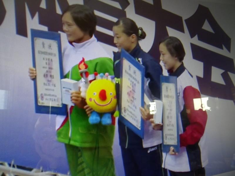 孫のメイ(長澤明生)国体水泳飛び込み 3m飛板飛込みで2位入賞_c0108460_14454568.jpg