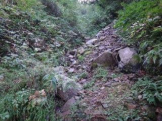 旧歩荷道から西穂高岳_e0064783_19394363.jpg