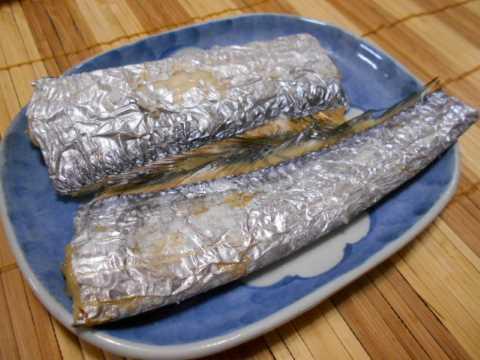 嫁からのお土産&太刀魚の塩焼き_f0019498_20405027.jpg