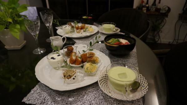 仕事の日に6時に終わりにしてから急ぎ食事の支度を~_f0229613_17343315.jpg