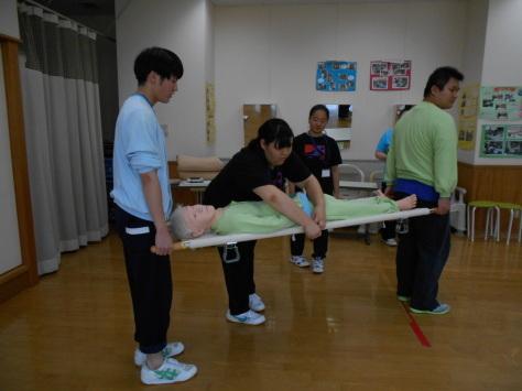 第7回 体験入学 災害介護_b0137422_16012817.jpg