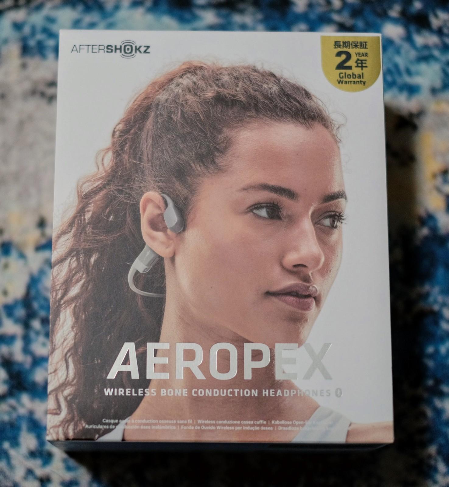 骨伝導ワイヤレスヘッドホンAfterShokz Aeropex がかなり良い!_b0024832_23433717.jpg