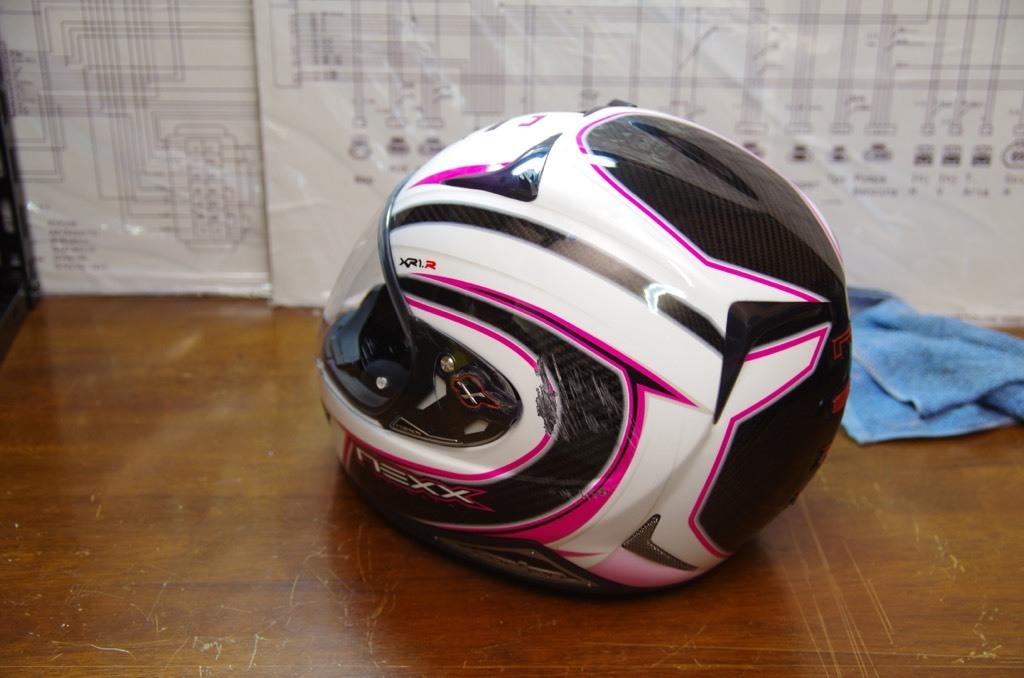 NEXXヘルメット補修_e0159646_11383490.jpeg