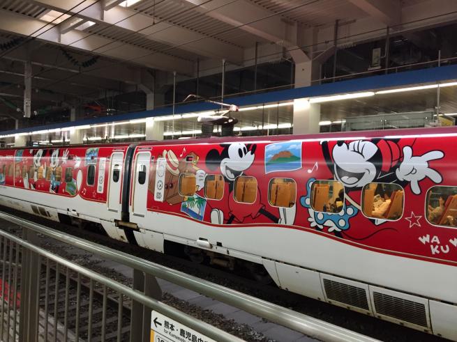 ミッキーマウス新幹線☆_f0183846_18351572.jpg