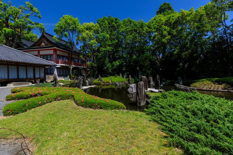 サツキ咲く曲水の庭(松尾大社)_f0155048_23552891.jpg