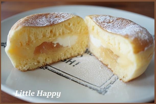 本当にケーキのようだった!「ケーキのようなホットケーキミックス」_d0269651_14592334.jpg