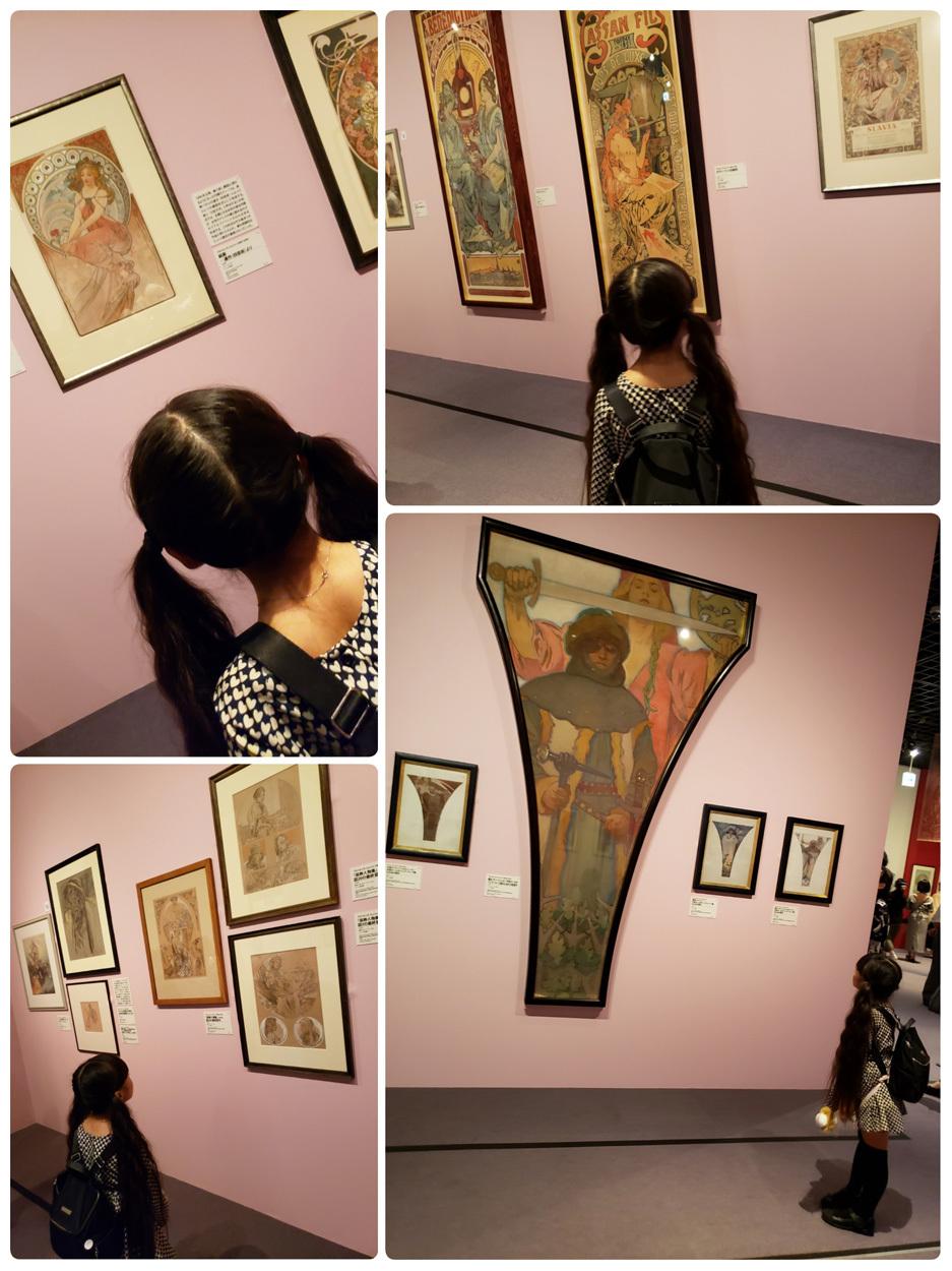 『ミュシャ展』『教会の鐘』『とりさんのにじ』…娘、7歳になりました。_d0224894_02242423.jpg