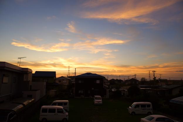 〜台風15号前の夕焼け〜_c0152400_06585378.jpg