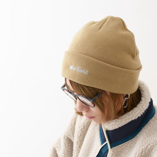 WILD THINGS [ワイルドシングス] WATCK CAP [WT19152Y] ワッチキャップ・ニットキャップ・ニット帽 MEN\'S/LADY\'S_f0051306_17091306.jpg