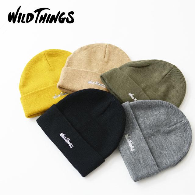 WILD THINGS [ワイルドシングス] WATCK CAP [WT19152Y] ワッチキャップ・ニットキャップ・ニット帽 MEN\'S/LADY\'S_f0051306_17091342.jpg