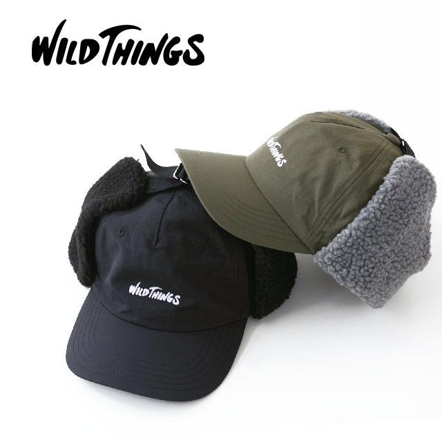 WILD THINGS [ワイルドシングス] FLIGHT CAP [WT18127Y] フライトキャップ・耳あて付き・耳ボア・ボア付き MEN\'S/LADY\'S _f0051306_17231938.jpg