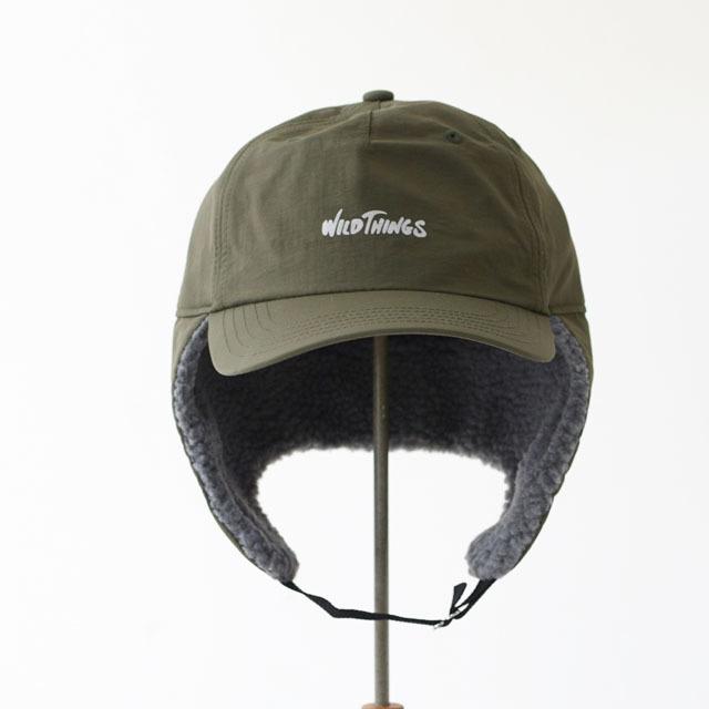 WILD THINGS [ワイルドシングス] FLIGHT CAP [WT18127Y] フライトキャップ・耳あて付き・耳ボア・ボア付き MEN\'S/LADY\'S _f0051306_17232022.jpg