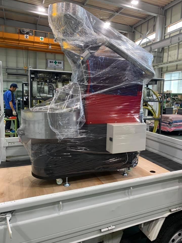 GRN熱風焙煎機GRN-5が台湾へ旅立ちます。_c0020639_14012110.jpg